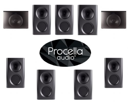 Procella Audio 7.2 Home Cinema Speaker Package